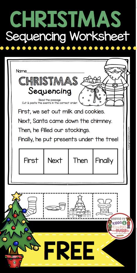 december math and literacy pack freebies first grade christmas kindergarten reading. Black Bedroom Furniture Sets. Home Design Ideas