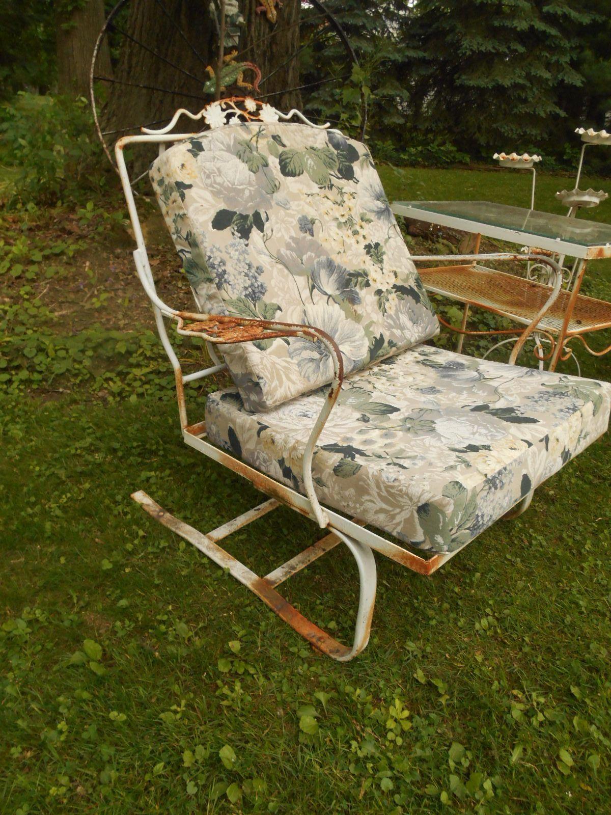 Woodard Wrought Iron Patio Furniture Paint