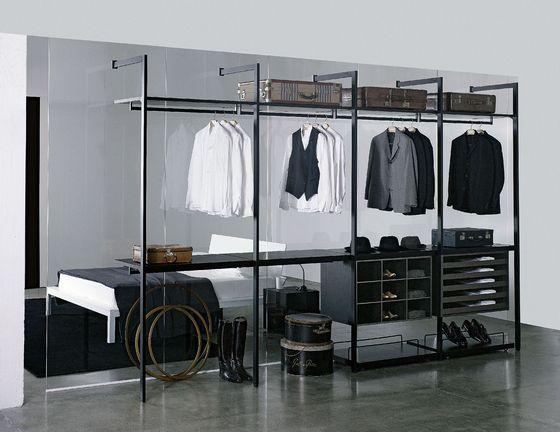 Storage Walk-in Closet | Porro. Check it on Architonic