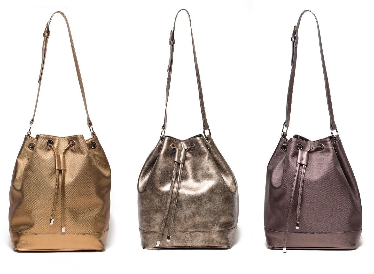 Jill Milan Vegan Leather Bucket Bag More On Addresschic
