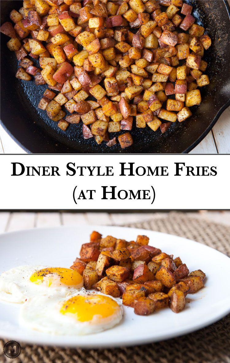 Homemade Home Fries Easy Brunch Recipesbreakfast