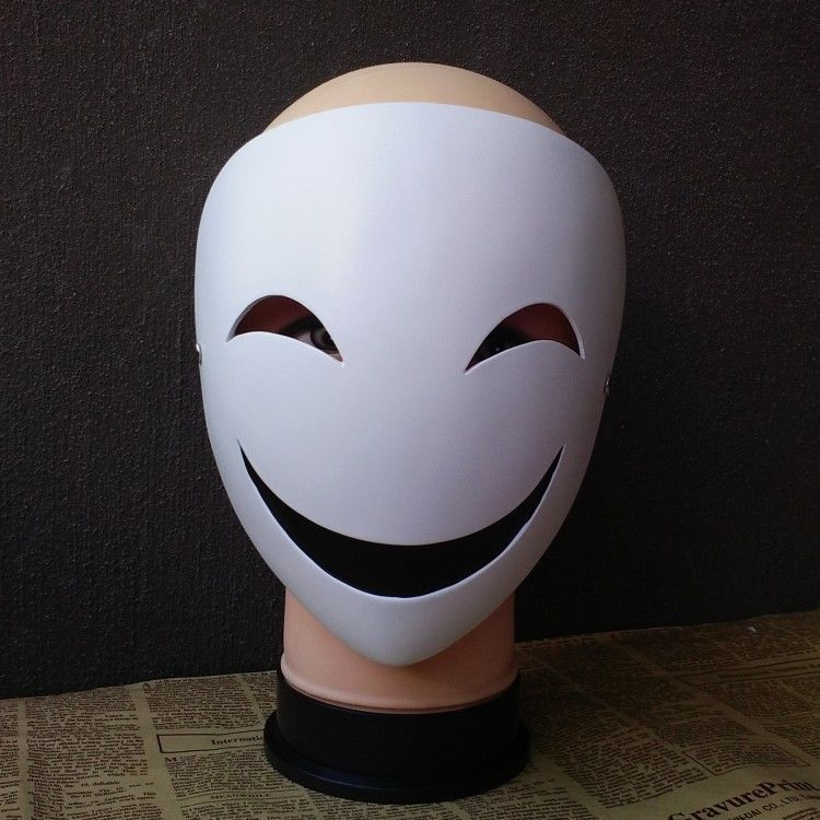Japanese Anime Black Bullet Hiruko Mask Cosplay Props Holloween Gifts Collection