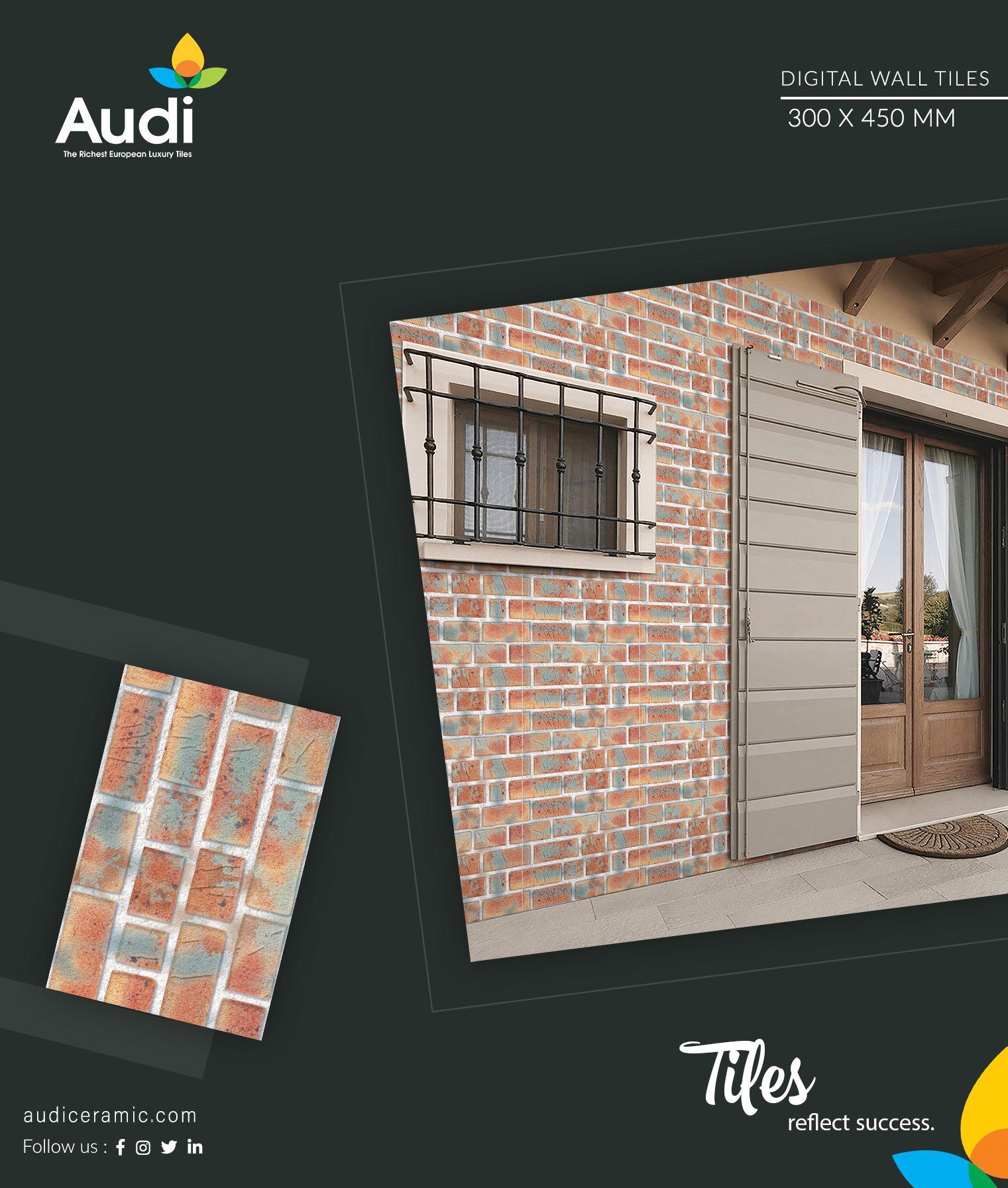 Tiles Reflect Success Audiceramic Homedecor Ceramictiles Walltiles Brand Interior Besttiles Morbi Exporter With Images Ceramic Wall Tiles Digital Wall Tiles