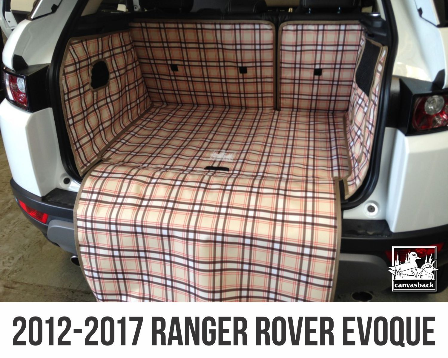 We Are Loving This Tan-plaid Pattern For The RANGE ROVER