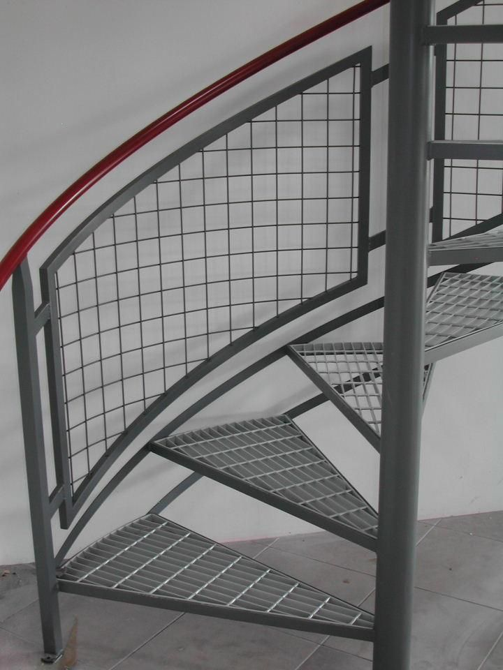 Image result for wood and mesh railing stairs indoor (With ...