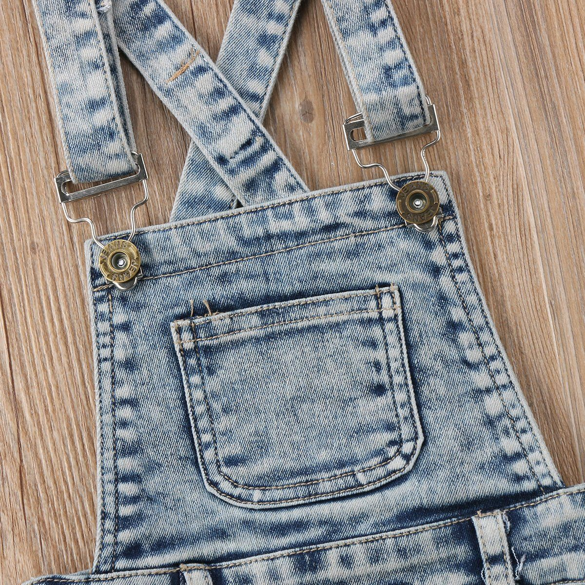 2a4285c6af47 Baby Little Girls Boys Kids Denim Short Overalls Denim Jumpsuit Boyfriend  Jeans Denim Romper Shortalls Denim