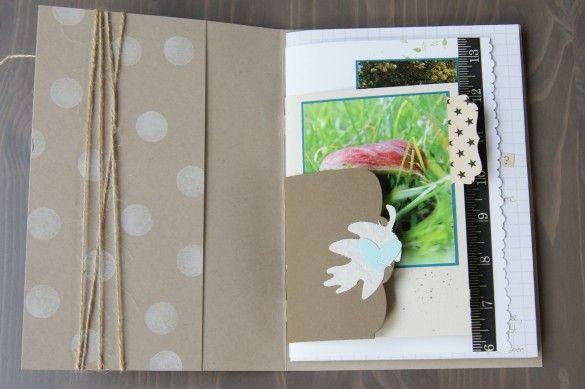 a4 folded mini album