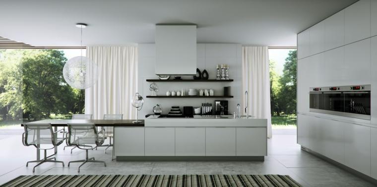 Vorhänge für die Küche ein Detail, das zu Hause nicht vermisst