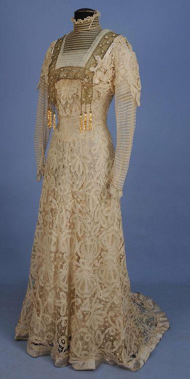Dress 1902 vestido de encaje
