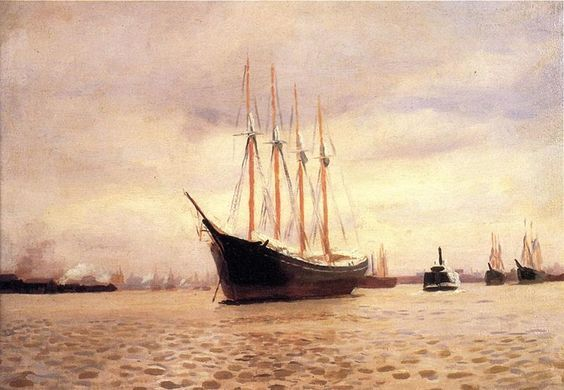 """Résultat de recherche d'images pour """"thomas pollock anshutz paintings"""" (1851-1917)"""