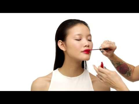 Topshop Beauty School: The After Dark Glamazon