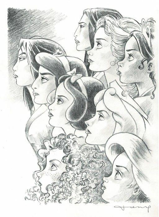 Princess drawings image by FSMJ on Art and Drawings ...