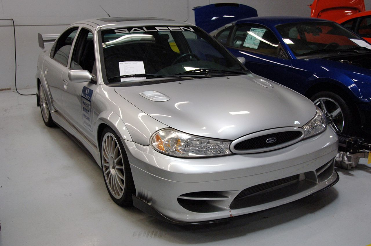 Saleen S Irvine Assembly Plant With Svt Contour Mention Ford