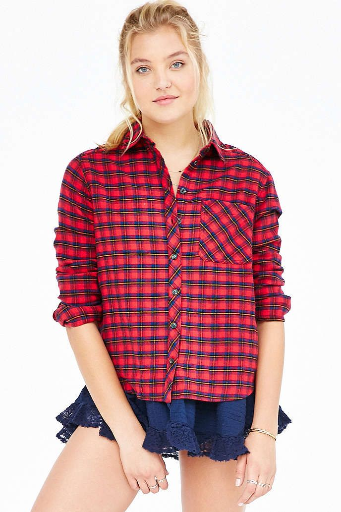 BDG Louie Flannel Shirt - Urban Outfitters