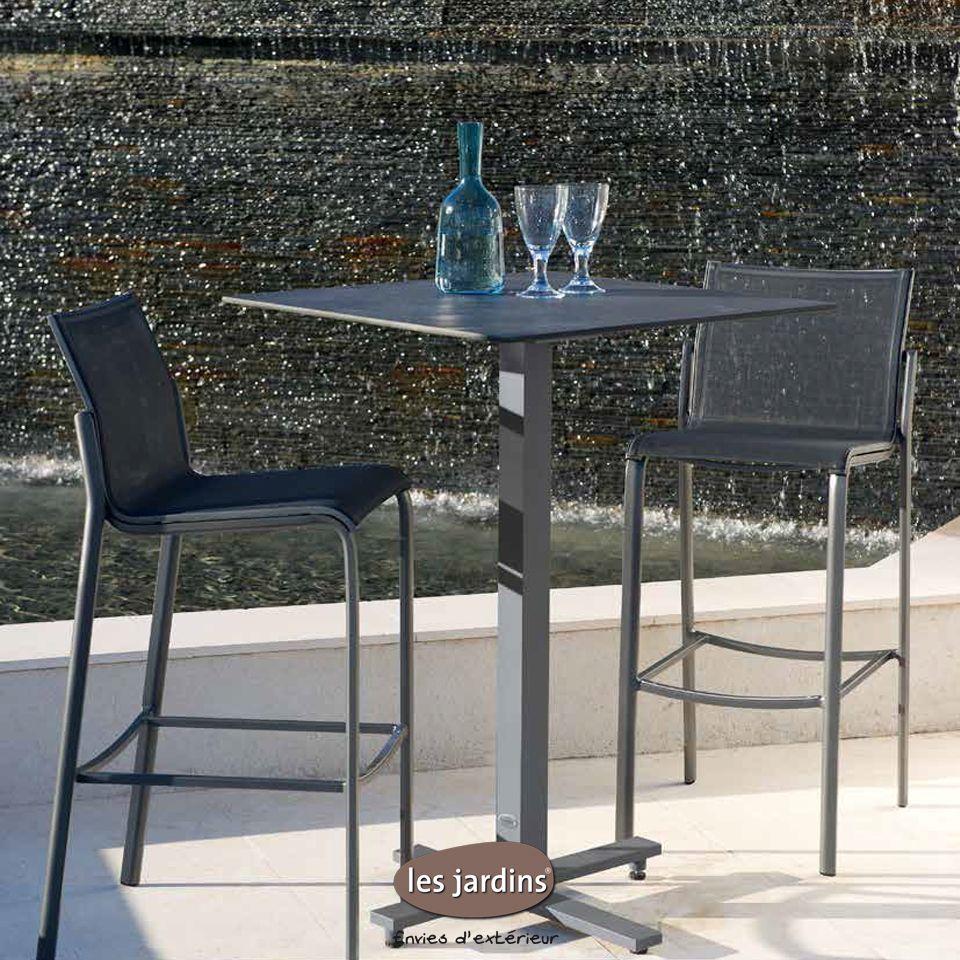design de qualité 866a8 464b6 Table collection BISTRO : pied mange debout et Plateau HPL ...