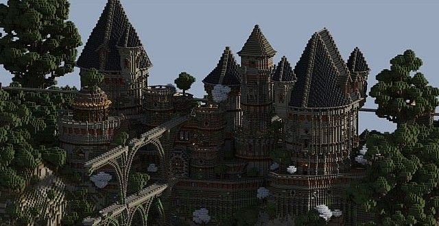 Ancient Castle Ruins | Minecraft Building Inc | Minecraft ...