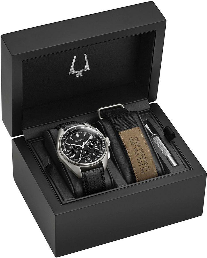 Bulova Mens Black Watch Boxed Set-96b251 (con imágenes) | Reloj ...