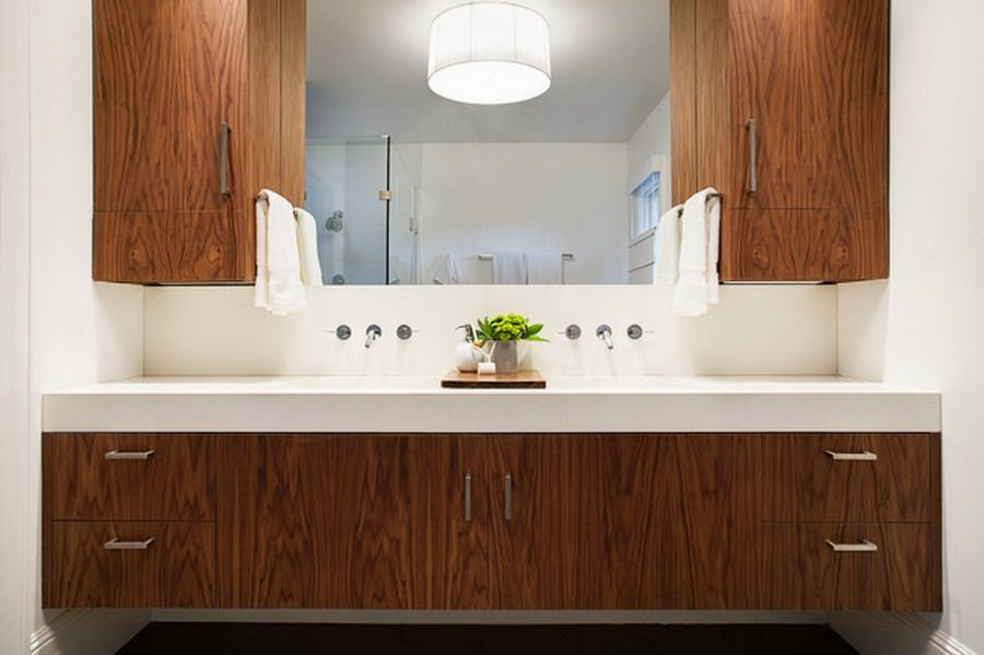 Have The Custom Bathroom Vanities Europe In Your Bathroom: Nice Custom  Wooden For Modern Bathroom Vanities Ideas