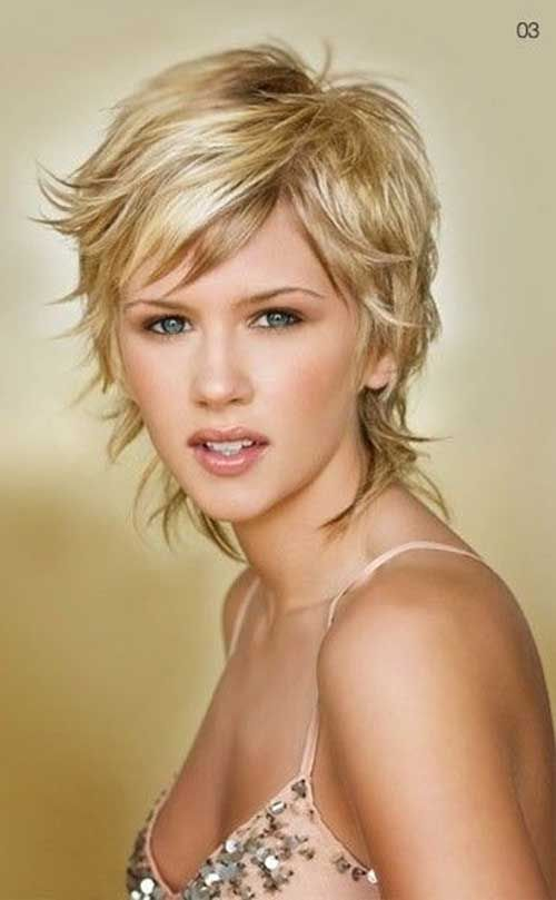 40 Gorgeous Layered Haircuts for Fancy Look | Pinterest | Short shag ...