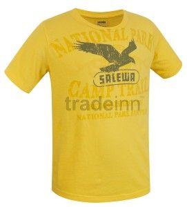 Salewa Samesa Co S/s Tee Yellow Kids $26.81