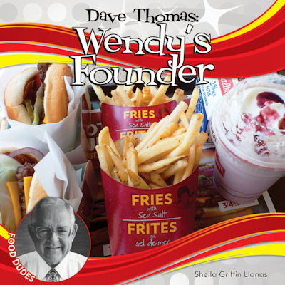 Dave Thomas Wendy's Founder (15) / Food Dudes Set 2 in
