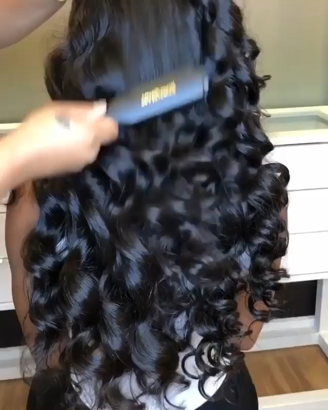 body wave hairstyle for black beauty(coupon:ap10)