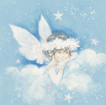 Открытки с ангелом ирины