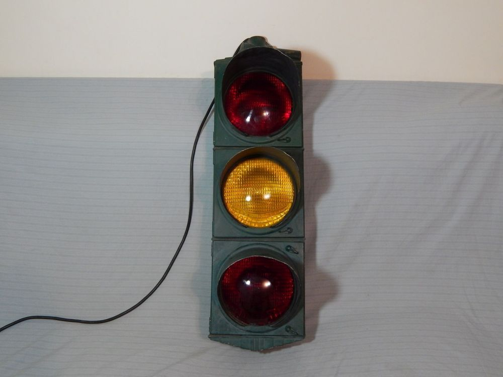 Crouse Hinds Traffic Signal Light Art Deco Hl6165 Smiley Lens Working Light Art Traffic Light Signal Traffic Signal