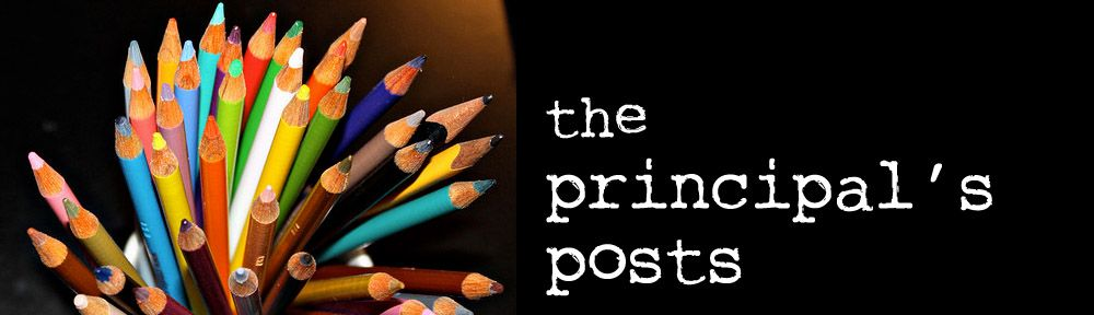A great blog by Lyn Hilt, K-6 principal, in Pennsylvania.
