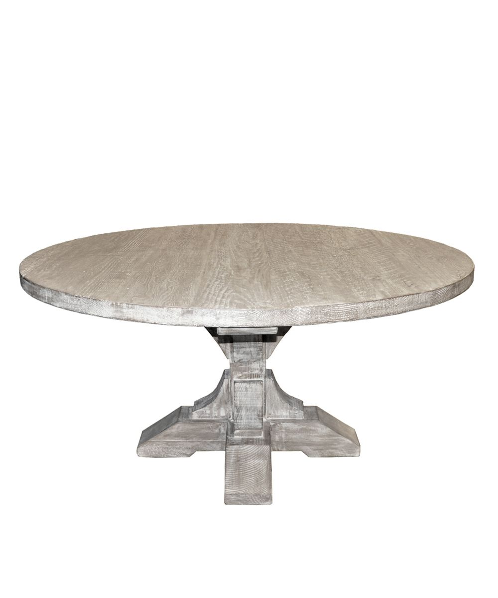 Antique Painted Finish Round Pedestal Dining Table Round Pedestal Dining Antique Dining Tables Round Dining Table