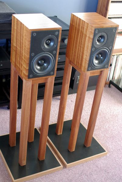 diy speaker stands ideas wood ikea simple shelves pvc pipes spaces mounted tv built ins. Black Bedroom Furniture Sets. Home Design Ideas
