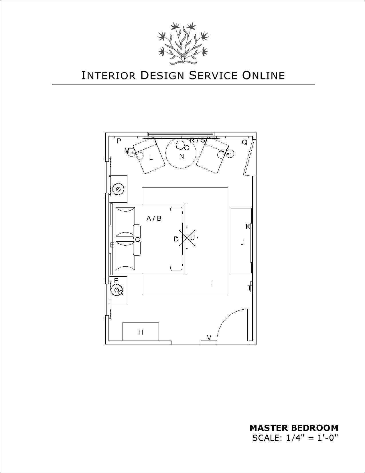 Master bedroom furniture layout  eriordesignserviceonline Master Bedroom  Rooms