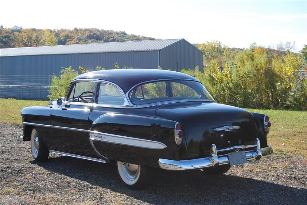 1953 Chevrolet Bel Air 2 Door Sedan Cars From The 1950s