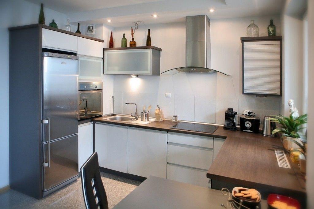 Beautiful Kitchen Design! High Gloss and Aluminum Frame ...