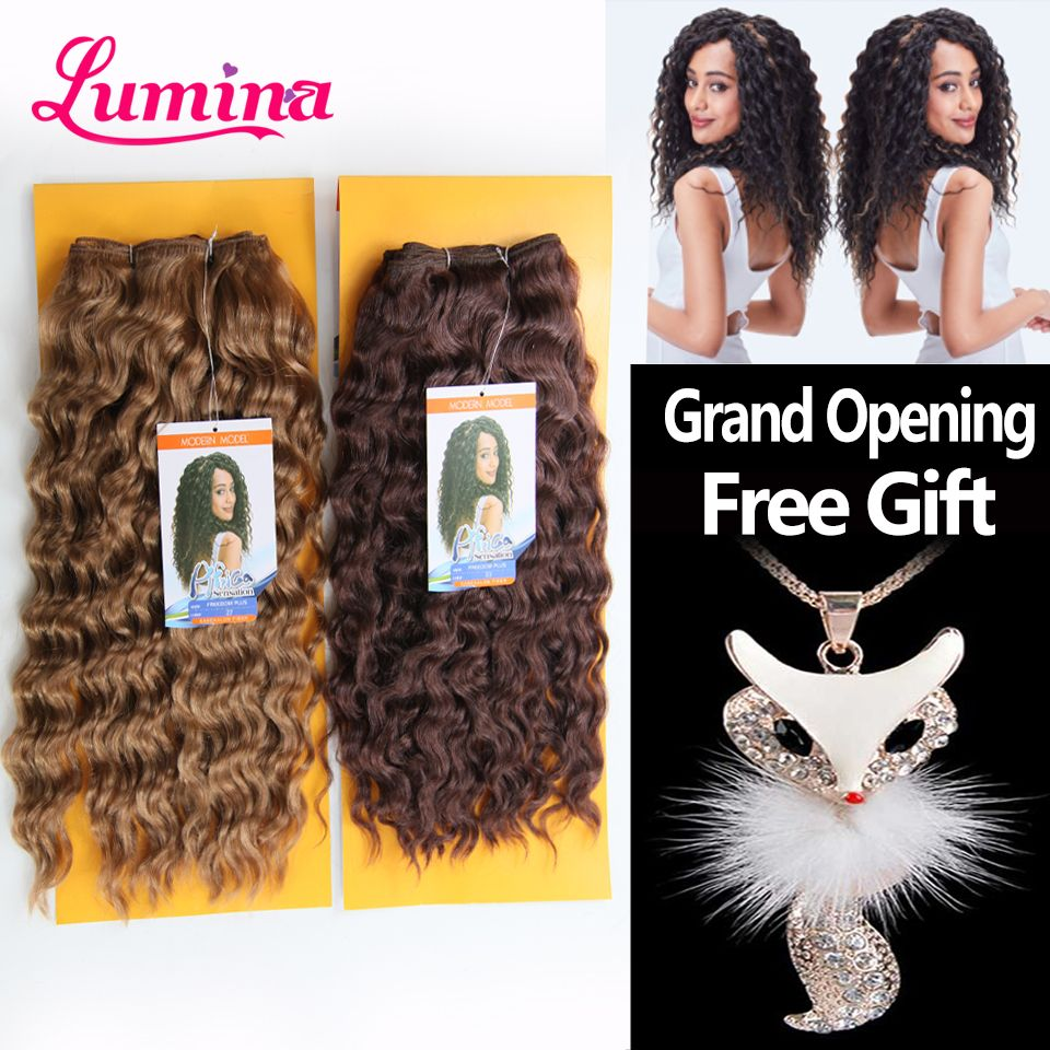 Find More Hair Weaves Information About 1pc Deep Freedom Plus Wave 15 Color 1b 27 3 Hair Accessories Long Hair Synthetic Hair Extensions Curly Hair Extensions