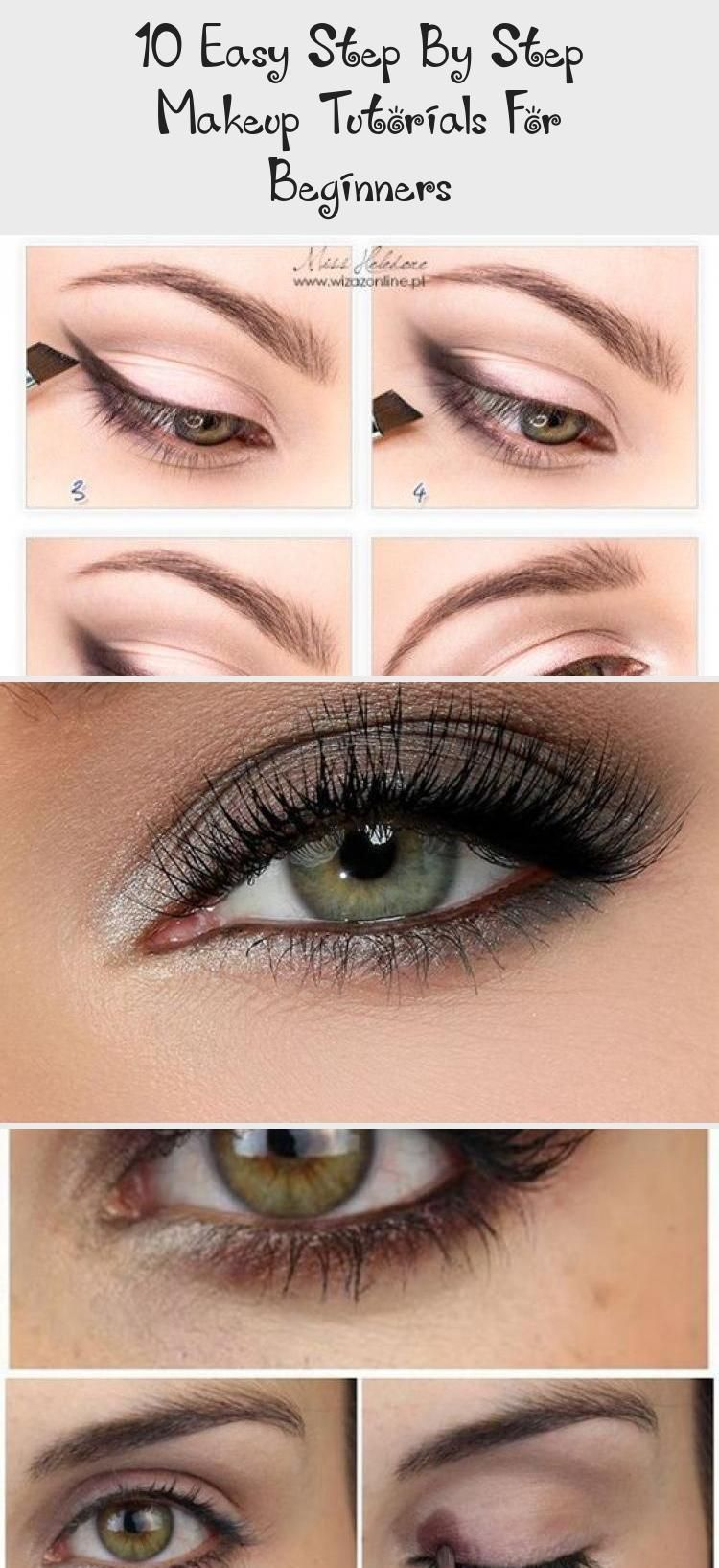 10 Easy Step By Step Makeup Tutorials For Beginners Makeup 10 Easy Step By Step Makeup In 2020 Makeup For Beginners Makeup Tutorial Makeup Tutorial For Beginners
