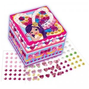 Sticky Mosaics Tooth Fairy Trinket Box
