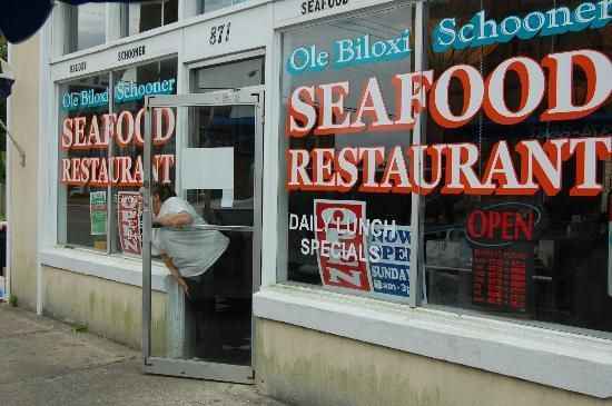 Old Biloxi Schooner Seafood Restaurant Ms Awesome