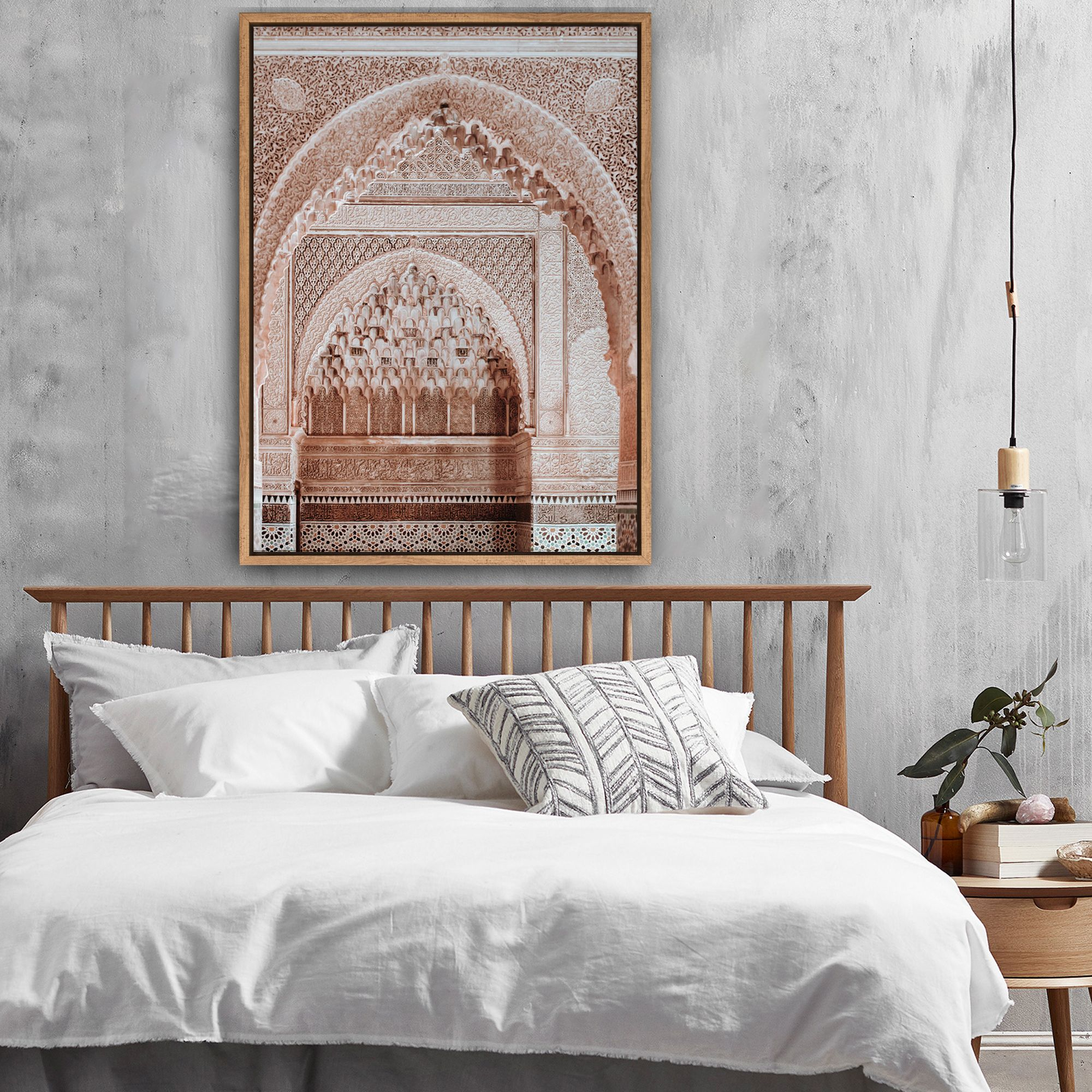 Intricate Doorways Canvas Wall Art - Temple & Webster