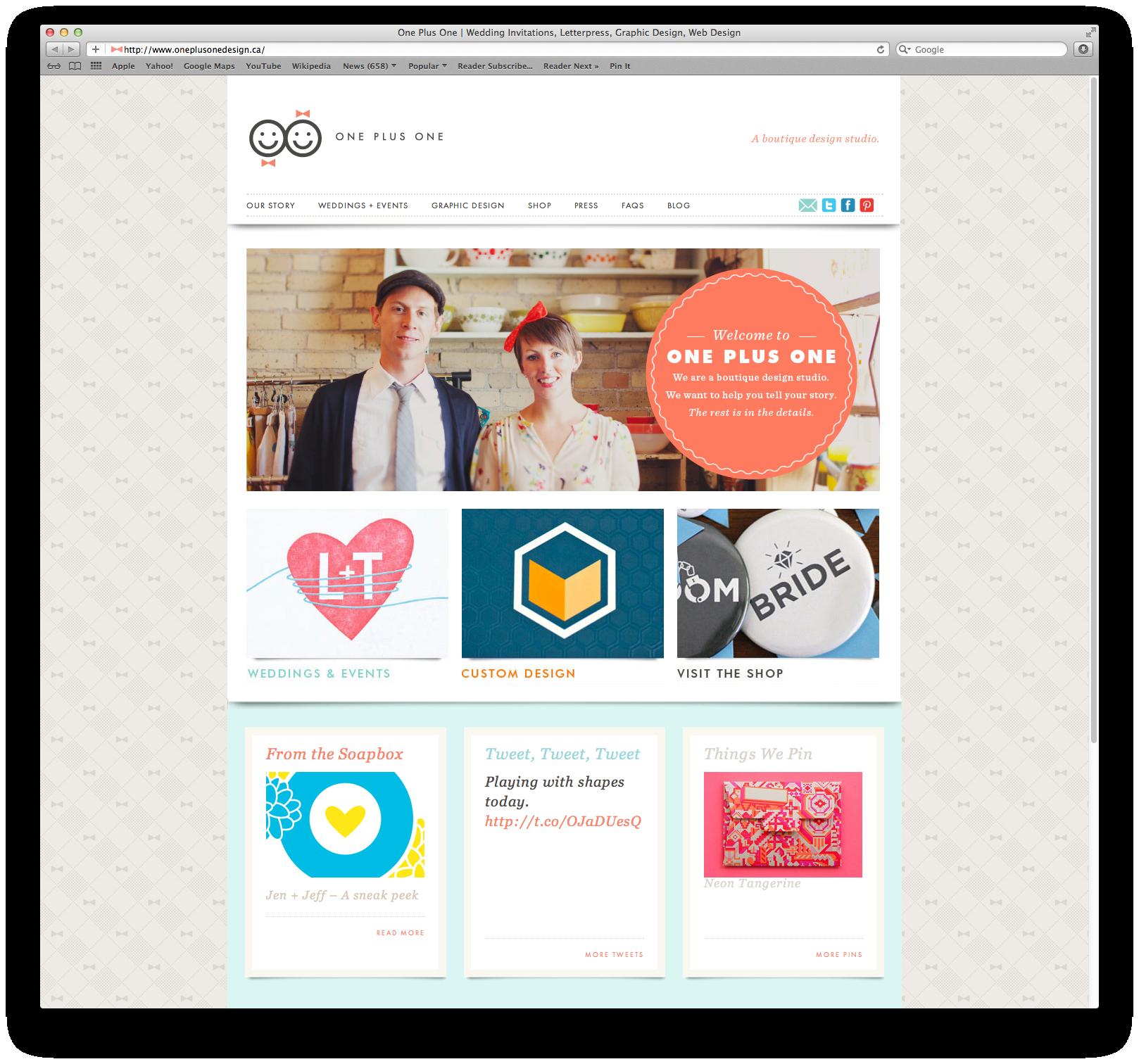 Design firm plusonedesign websites u design