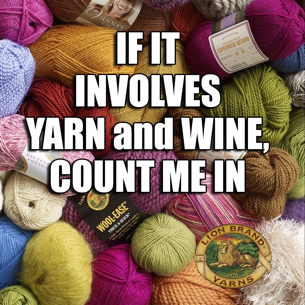 Lion Brand Yarn | say what?! | Pinterest