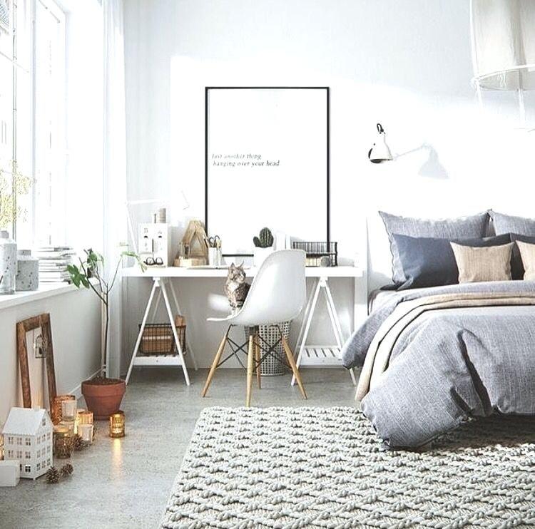 Home Office Guest Room Combo Ideas Bedroom Interior Scandinavian Design Bedroom Guest Room Office