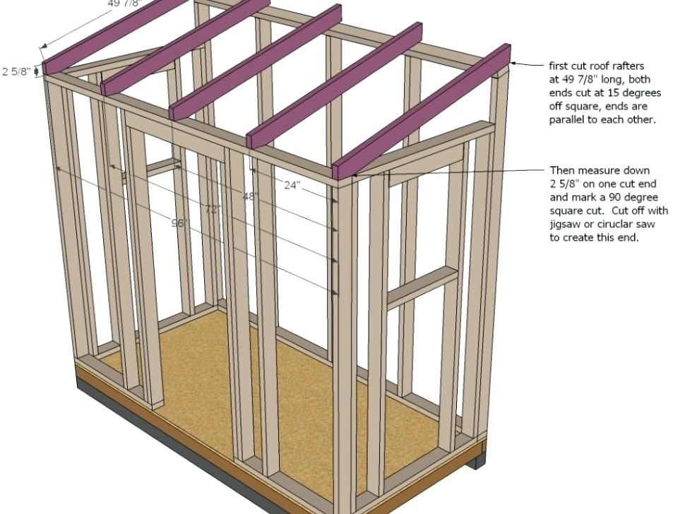 Image result for shed roof framing | Gramercy Pottery Shed in 2018 ...