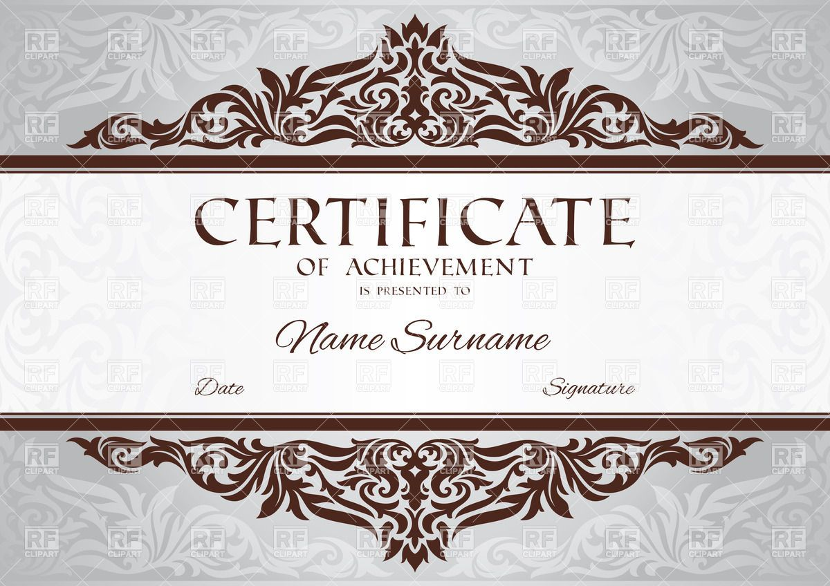 Download vintage certificate template gift certificate download vintage certificate template 1betcityfo Images