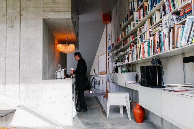 Wohnung Buro Der Architekt Brandlhuber Mitte Berlin Inspiring