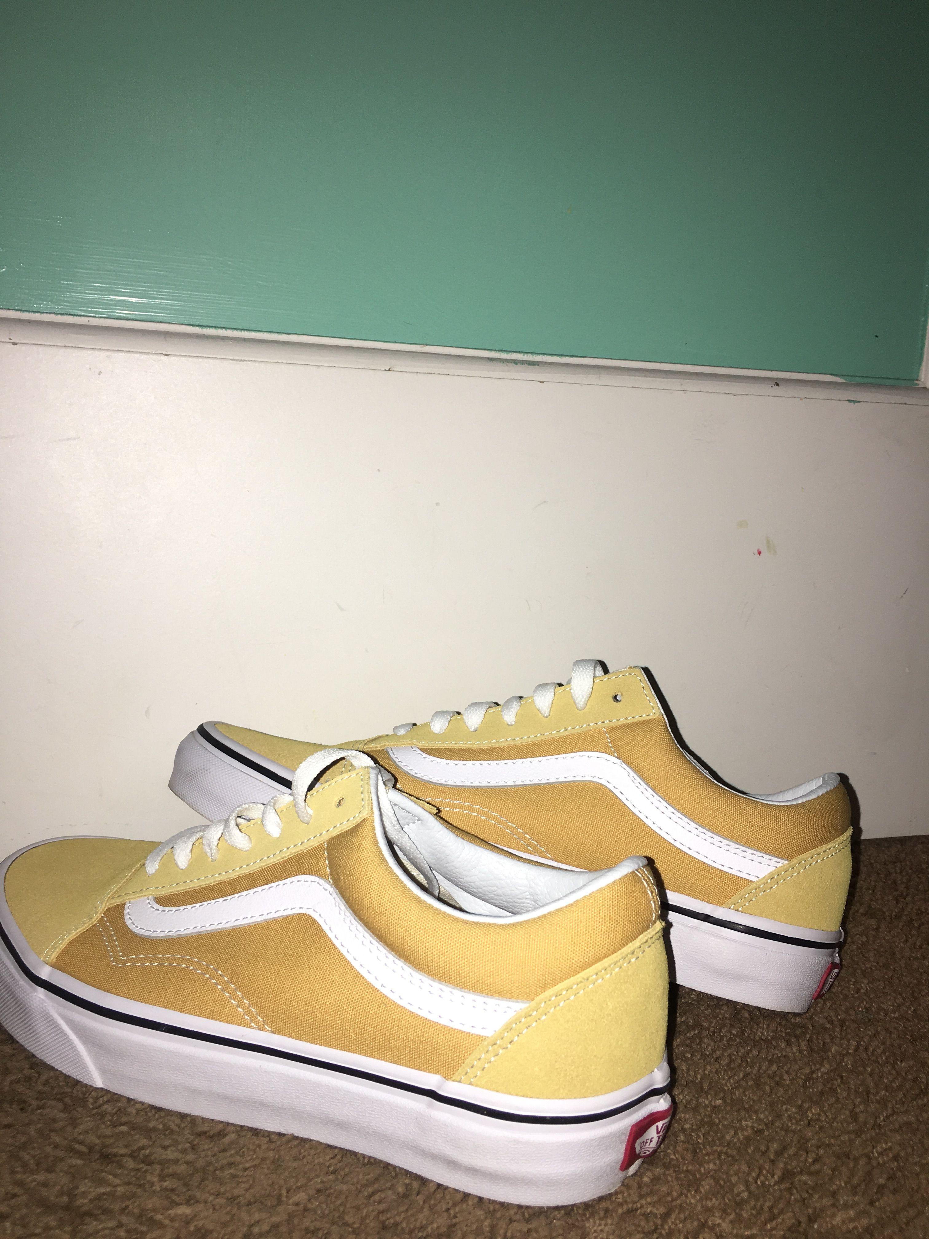 Pin by chloe on v a n s | Yellow vans