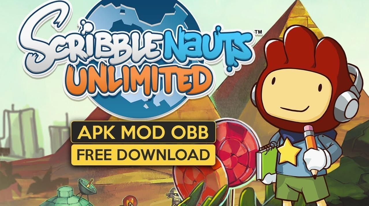 Scribblenauts Unlimited MOD Apk OBB v1.27 Unlocked All in