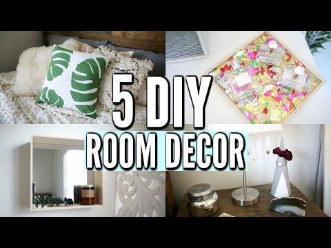 5 diy room decor ideas easy diy room decorations for 2017