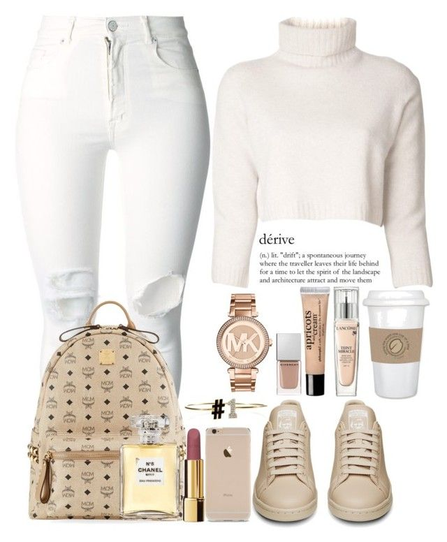 """""""December 29th, 2015"""" by inesdinis6 ❤ liked on Polyvore featuring (+) PEOPLE, Alison Lou, The Row, MCM, Chanel, Givenchy, Lancôme, MICHAEL Michael Kors and philosophy"""