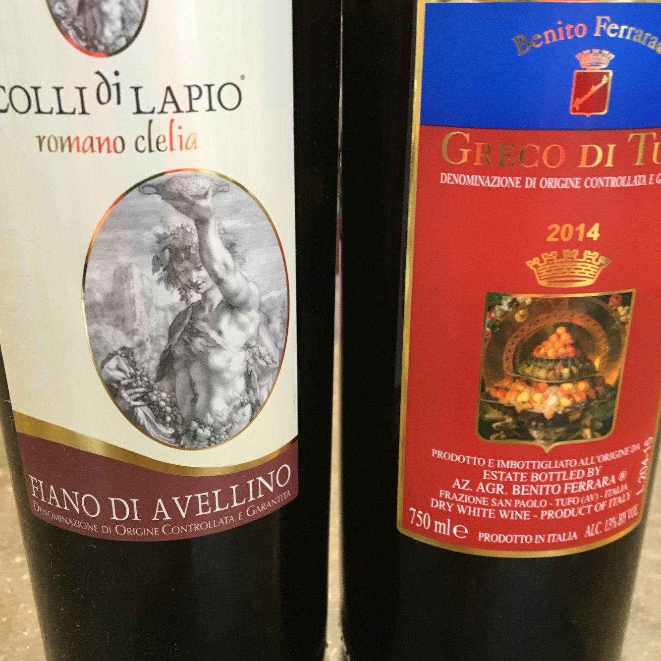 Some Campania Whites For A Hot Summer Night Fiano D Avellino And Greco Di Tufo Book Cover